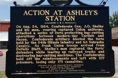 Action at Ashleys Station