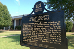 Ashley-County Historical marker