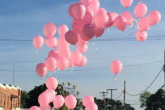 Pink Balloon Release