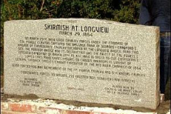 Skirmish at Longview Marker