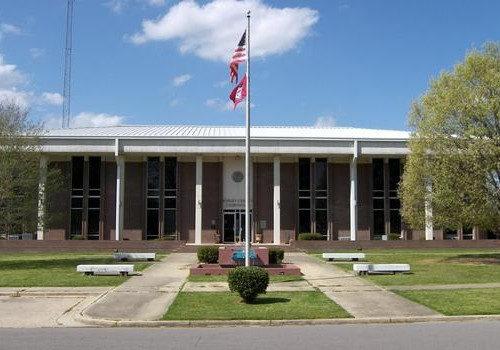ashley county ar courthouse